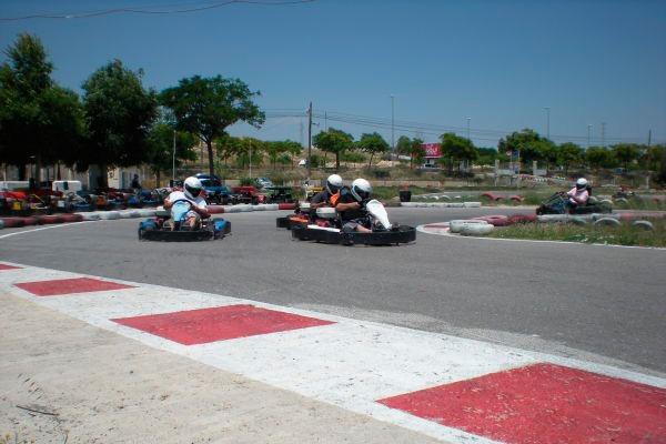 Competición de karts en Alicante