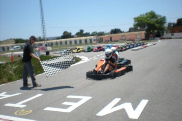 Despedida de soltero en karting