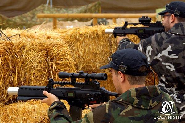 Elementos Escenario Combat Laser Alicante