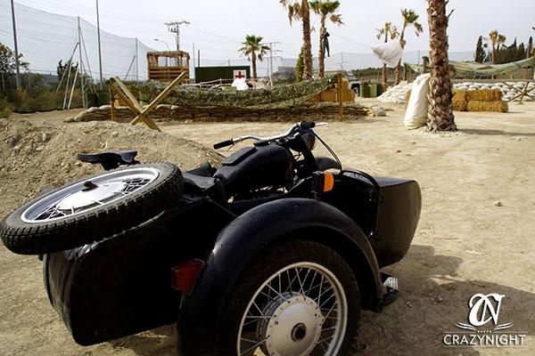 Sidecar en Laser Combat Alicante