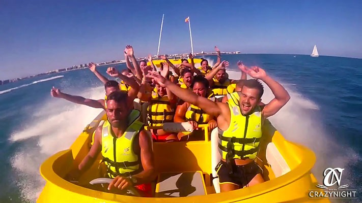 Moster Speed Fly Boat Alicante