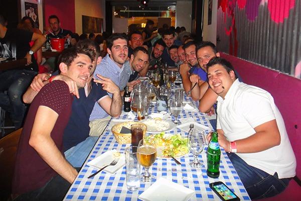 Despedida de soltero en restaurante Alicante