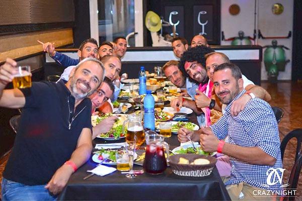 Restaurante Despedidas Crazynight en Alicante 5