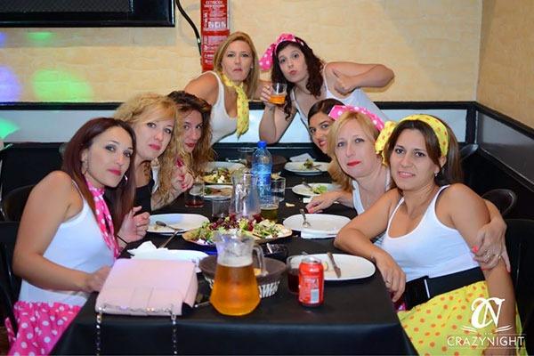 Restaurante Despedidas Crazynight en Alicante 6