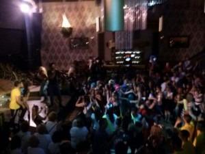 Sala Troya Actuación